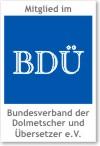 BDÜ Mitgliederlogo